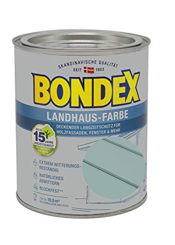 Bondex Landhaus-Farbe 0,75l gartengrün - 391300