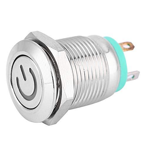 1No, interruptor, sensor de contacto con cable de acero inoxidable, acero inoxidable de reinicio de auto-restablecimiento 3a (verde)
