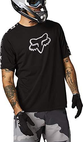 Fox Racing Herren Ranger DRI Release Short Sleeve Jersey Hemd, schwarz, X-Groß
