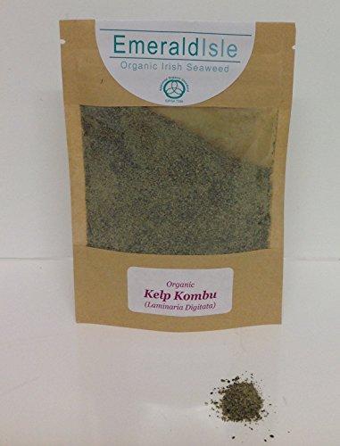 Kombu, Sostituzione del Sale, Aromatizzatore Kelp Kombu Polvere Smeraldo Isle Alghe.