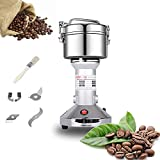 Grain Mill 150g High Speed Food Electric Stainless Steel Grinder Mill Seeds Flour Nut Pill Wheat...