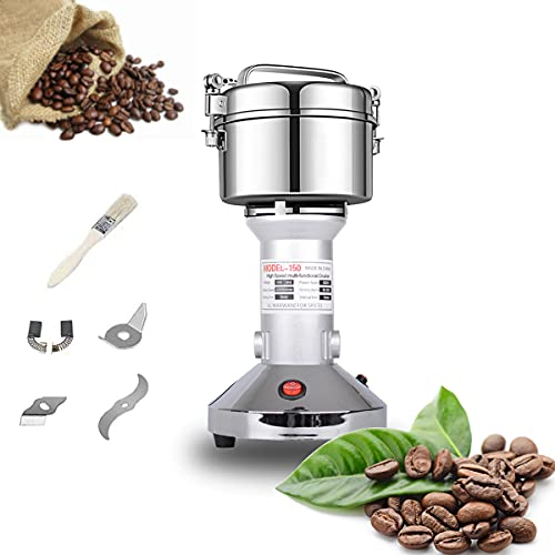 Grain Mill 150g High Speed Food Electric Stainless Steel Grinder...
