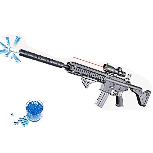 BCHENG Water Bomb Toy Gun, Military Combat Barrett Sniper Rifle, Children Outdoor CS Water Bomb Toy Sniper Rifle+10000 Bullets.