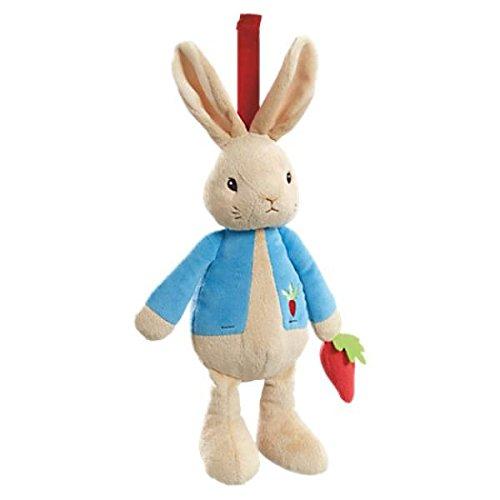 Peter Rabbit muziekdoos knuffel 28cm (4x in verpakking)