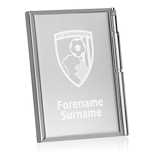Personalised Official AFC Bournemouth Crest Address Book
