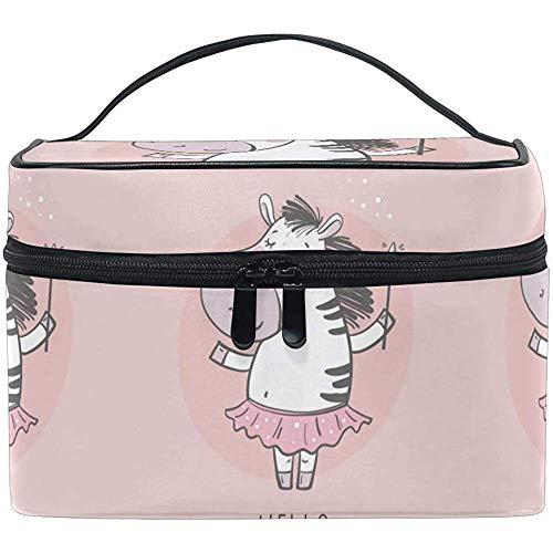 Handtas voor dames met reistas Zebra Princess
