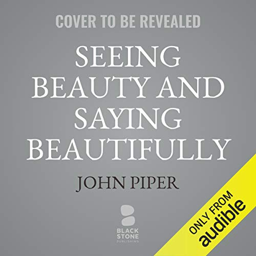 Couverture de Seeing Beauty and Saying Beautifully
