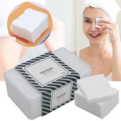 1000 unidades por caja de almohadillas de algodón para maquillaje, herramientas cosméticas, toallitas de algodón sin pelusas, para el centro de la piel sensible