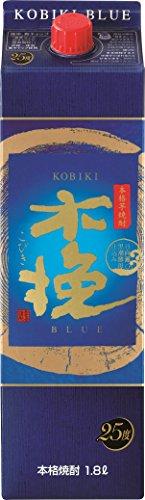雲海酒造 木挽BLUE 芋焼酎 パック [ 焼酎 25度 宮崎県 1800ml ]