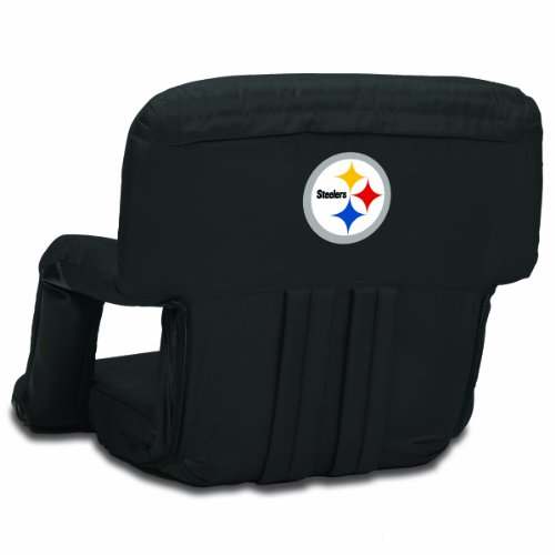 NFL Pittsburgh Steelers Portable Ventura Reclining Stadium Seat