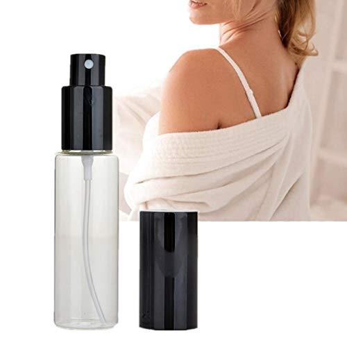 WESDOO Vaporisateur De Sac Rechargeable Atomiseur Parfum Voyage Bouteille De Parfum Atomiseur Bouteille de Parfum Rechargeable Bouteille De Parfum Black
