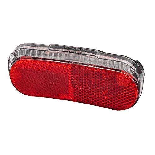 nean Fahrrad E-Bike LED Rückleuchte mit Sicherheitsreflektor und StVZO-Zulassung, 5 Candela, Rückstrahler mit Reflektor, Rücklicht für Heck, Leuchte, rot