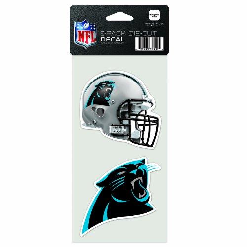 NFL Carolina Panthers 2-Piece Die-Cut Decal, 4' x 8'
