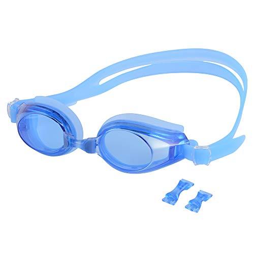 StepWorlf Nicht beschlagende Schwimmbrille Schwimmbrille UV-Schutz Kompatibel für Kinder OS1011