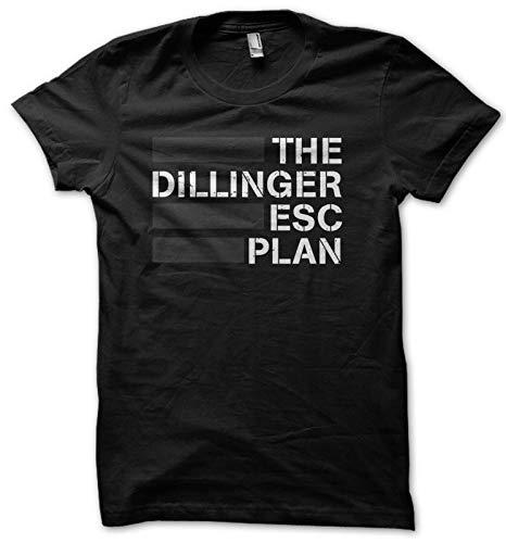 OKJH The Dillinger Escape Plan Men's T-Shirt S-XXL Black XXL BlackXXL