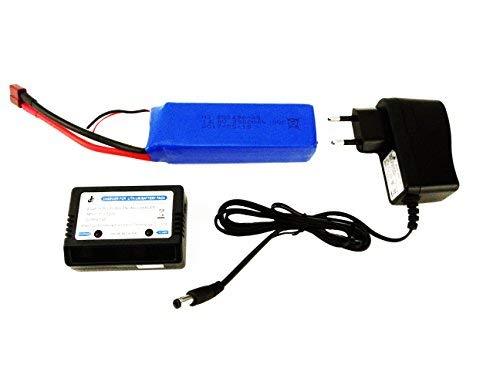 efaso ft011ft010Lipo caricatore per batteria 14,8Volt + ft010ft011batteria 14,8V 2800mAh
