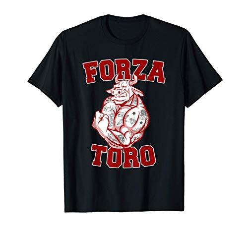 Forza Toro tifo granata Curva Maratona calcio Torino Maglietta