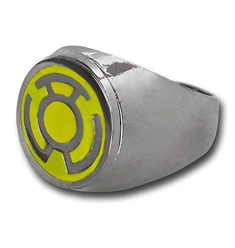 Dc Comics Yellow Lantern Symbol Edelstahl-Ring