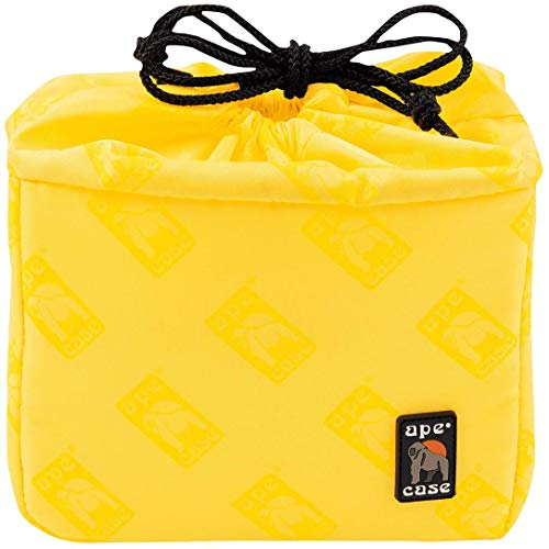 Ape Case Cubeze 33, Camera Insert, Black / Yellow, Interior Case For Cameras (ACQB33)