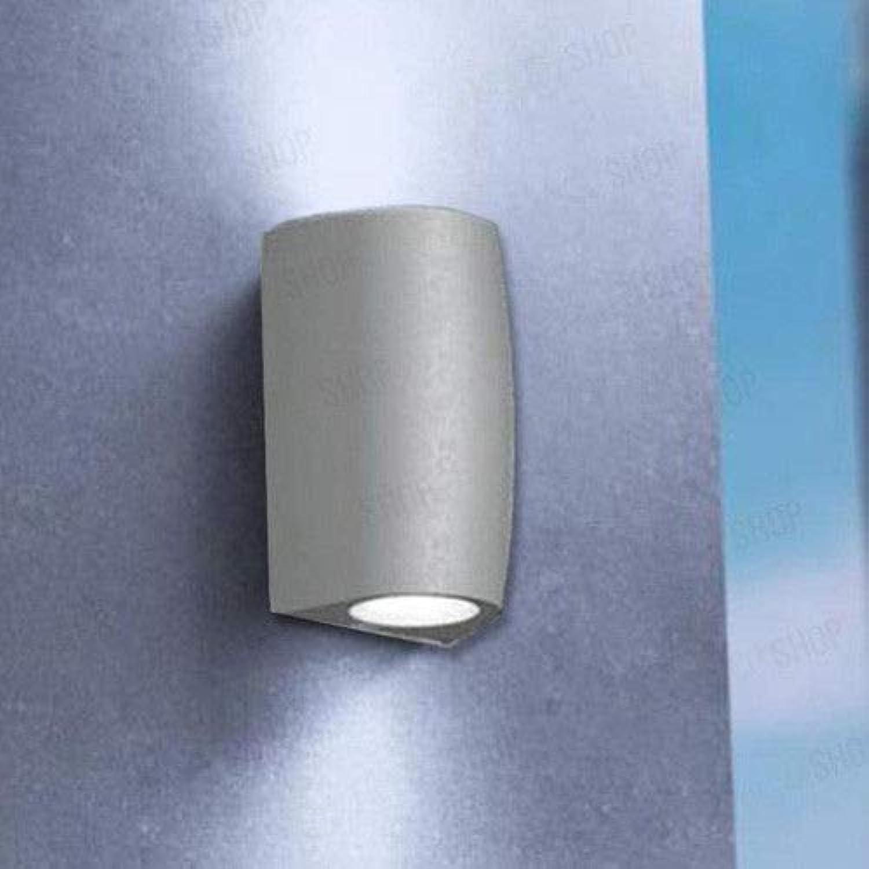 AUENBELEUCHTUNG FUMAGALLI WANDLEUCHTE LICHT OBEN&UNTER ANGRIFF GU10 LAMPE INKLUSIVE 2x3,5W 4000K GRAU FARBE LINIE MARTA 90 2L ARTIKEL  2A4000000LXU2L