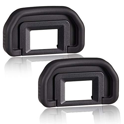 EOS 6D MarkⅡ Visor ocular ocular para Canon EOS MarkⅡ/∞ 6D MarkⅡ/∞ 90D/80D/70D/60D/50D/40D/20D/5DCámara Digital [2 paquetes], reemplazo ocular EB, Fire Rock Cámara Visor Accesorios EB