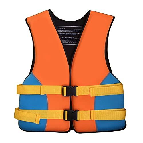 Q-YR Chaleco Salvavidas Profesional para Deportes Acuáticos Adultos Chaleco De Flotabilidad Ajustable para, Bote De Motor, Pesca, Surf,B,S