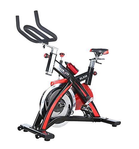 Lcyy-Bike Formatori Bicicletta Resistenza Magnetica 18 kg Volano Cardio Workout Regolabile Manubrio E Altezza Sedile