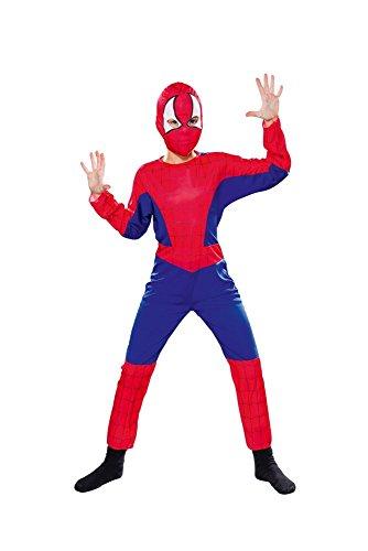 Gen 13 Aptafêtes - Disfraz de araña para niño - 7-9 años / Talla M (cs801020 M)