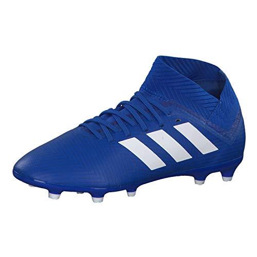 adidas Nemeziz 18.3 FG, Zapatillas de Fútbol Niños, Rojo (Zest/Core Black/Solar Red 0), 35.5 EU