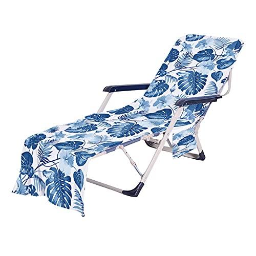 Toallas de microfibra, toalla de refrigeración para la playa, secado rápido, varios bolsillos, ligera, ultraabsorbente, ideal para toallas deportivas, de viaje, de baño
