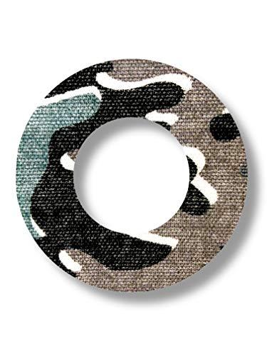FixTape ademende sensor tape-ring voor Freestyle Libre 1 & 2 I ronde zelfklevende patches met gat voor glucose sensor I veel draagcomfort I huidvriendelijk watervastI 7 stuks (Arctic)