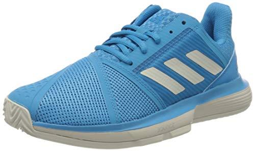 adidas Court Jam Bounce Clay Sandplatzschuh Damen-Hellblau, Weiß, Zapatillas de Tenis Mujer, Azul, 42 EU ⭐