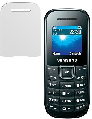 dipos I 2X Schutzfolie matt kompatibel mit Samsung E1200 / E1200i Folie Displayschutzfolie