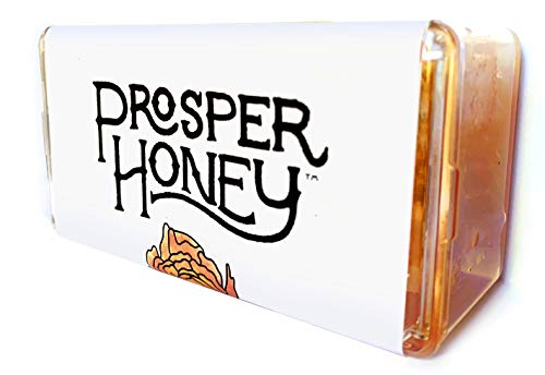 Prosper Wildflower Honeycomb (7oz), Raw Honeycomb for Eating, Pure and Real Honeycomb from the USA