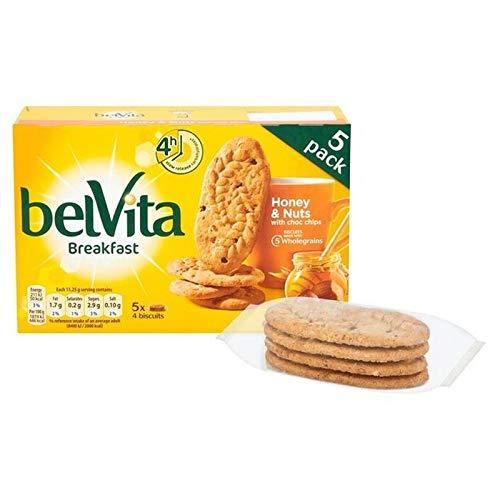Belvita Biscuits Petit Déjeuner Miel Et Noix 5 X 45G