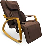Furgle Massage Chair w/Air Compress 3D Shiatsu Massage, 8 Modes Full Body Massage Vibration Heat Rocking Recliner Kneading Tapping Rolling for Shoulder Neck Back Waist and Hips