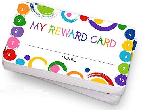 Bubbly And Bright Classroom Reward Card / 100 Behavior Reward Cards For Teachers And Students