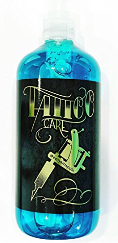 Tattoo Blue Soap 500 ml. - Professional Tattoo Cleansing Soap