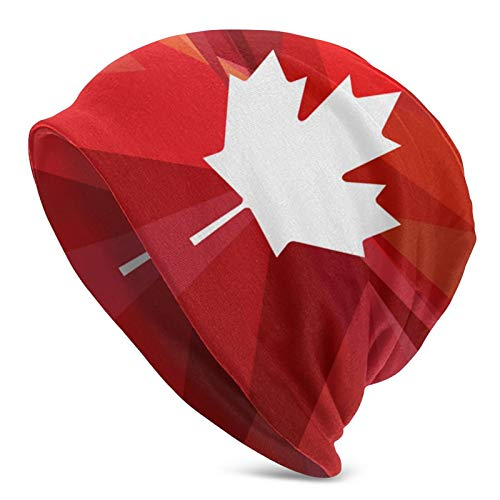 QUEMIN ¡Gloria Canadá! Eh Canada Day Slouchy Beanie Hat Caps Winter Soft...