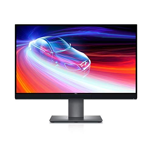 Dell U2720QM 27 Inch UltraSharp 4K UHD, IPS Ultra-Thin Bezel Monitor (HDMI, DisplayPort, USB-C), VESA Certified, Silver, Black