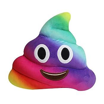 Best rainbow poop emoji pillow Reviews