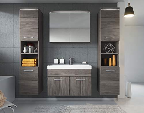 Badezimmer Badmöbel Set Paso XL LED 80 kaufen  Bild 1*