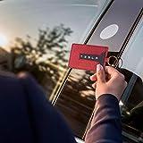 Womdee Tesla Model 3 Key Kartenhalter Für Valet Und Keychain, Vollständiger Schutz, Anti-Lost-Design, Komfortable Bedienung, Tesla Model 3 Zubehör