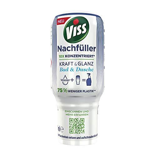 Viss Kraft & Glanz Bad & Dusche Ecopack Nachfüller - Konzentrat für 750 ml, (1 x 70 ml)