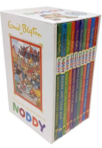 Enid Blyton Noddy Classic Adventures 10 Books Box Set Collection