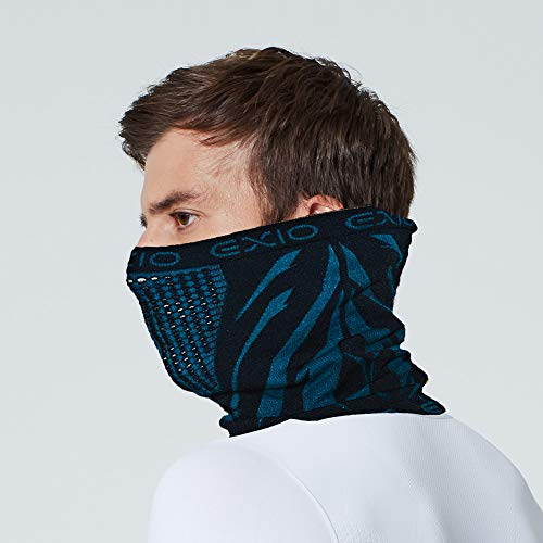 EXIO Winter Neck Warmer Gaiter/Balaclava (1Pack or 2Pack) - Windproof Face Mask for Ski, Snowboard