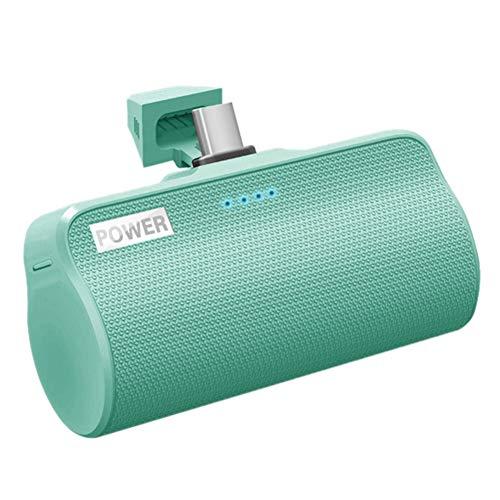 Nrpfell 3000MAh Power Battery, Potente Interfaz de Cargador Tipo C, BateríA Externa para TeléFono MóVil, Adecuado para Verde