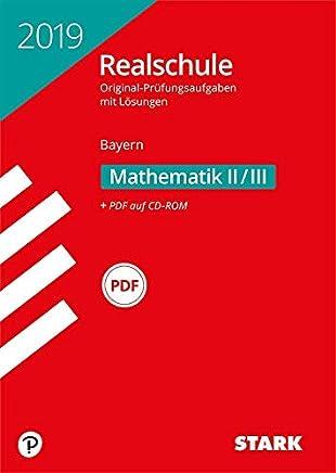 OriginalPrüfungen Realschule atheatik IIIII Bayern by