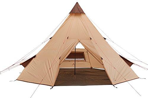 Grand Canyon Tepee - Tipi/Indiana Zelt für 8-Personen, Ø 500 cm, für Gruppen,...
