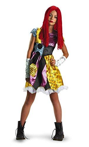 Disfraz Pesadilla antes de la Navidad del ni-o de Sally - Tween Traje 7-8